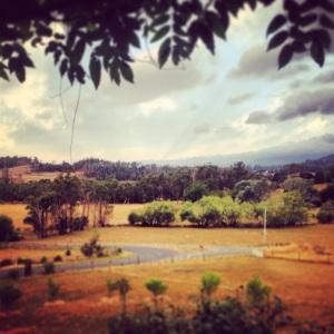 View of Mt Arthur from the Nuns' House, Karoola