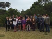 Families at Tebrakunna on Mannalargenna Day